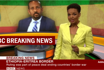 BREAKING NEWS: Ethiopia 'Accepts Peace Deal' to End Eritrea Border War