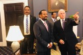 Ethiopian PM Abiy Ahmed Met United States Vice President Mike Pence