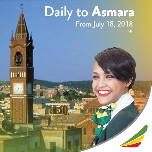 Ethiopian Airlines to Resume Flights to Asmara, Eritrea