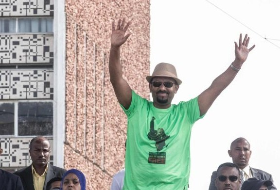 Ethiopians are going wild for Abiy Ahmed