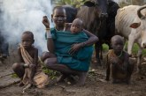 Ethiopia's Surma tribe lives without technology