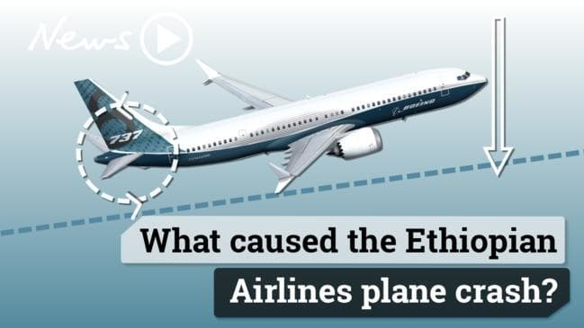 Boeing 737 Max Stall-Prevention system Activated before Ethiopian Airlines Crashed
