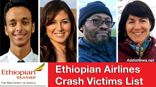 Ethiopian Airlines Crash Victims: Live Updates