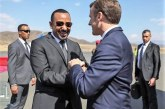 President Macron Arrives In Ethiopia For Two-Day Official Visit