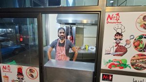 'Ethiopia is my home': Syrian chefs build new lives fuelled by shawarma