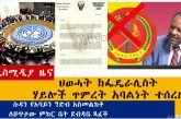 Ethiopian News: የዕለቱ ዜናዎች AddisMedia Daily News 06/25/20