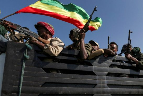 Ethiopia says its forces are 'closing in' on Tigray capital